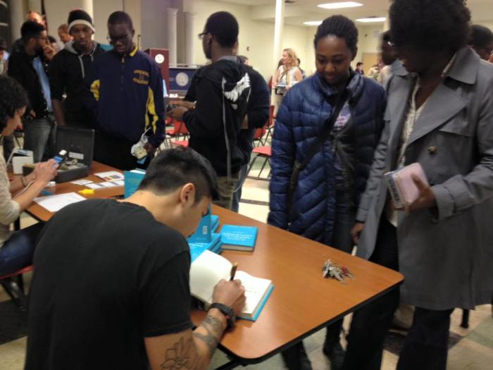 book release - signing