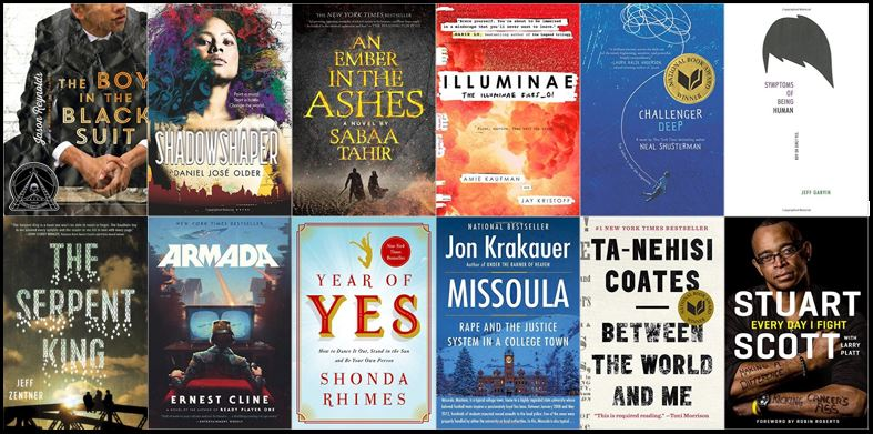 HS - Summer Reading Book Covers - 2016