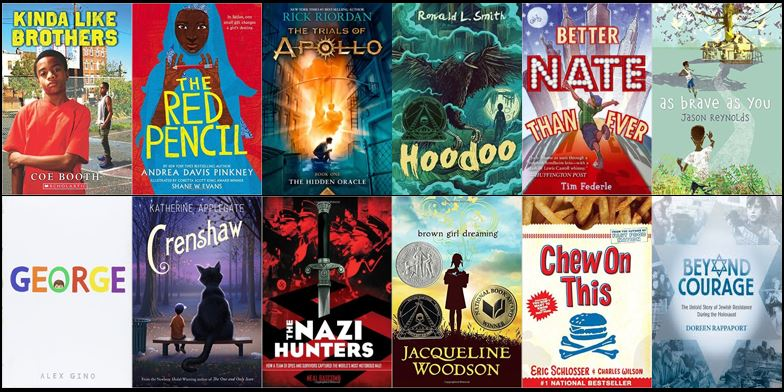 MS - Summer Reading Book Covers - 2016